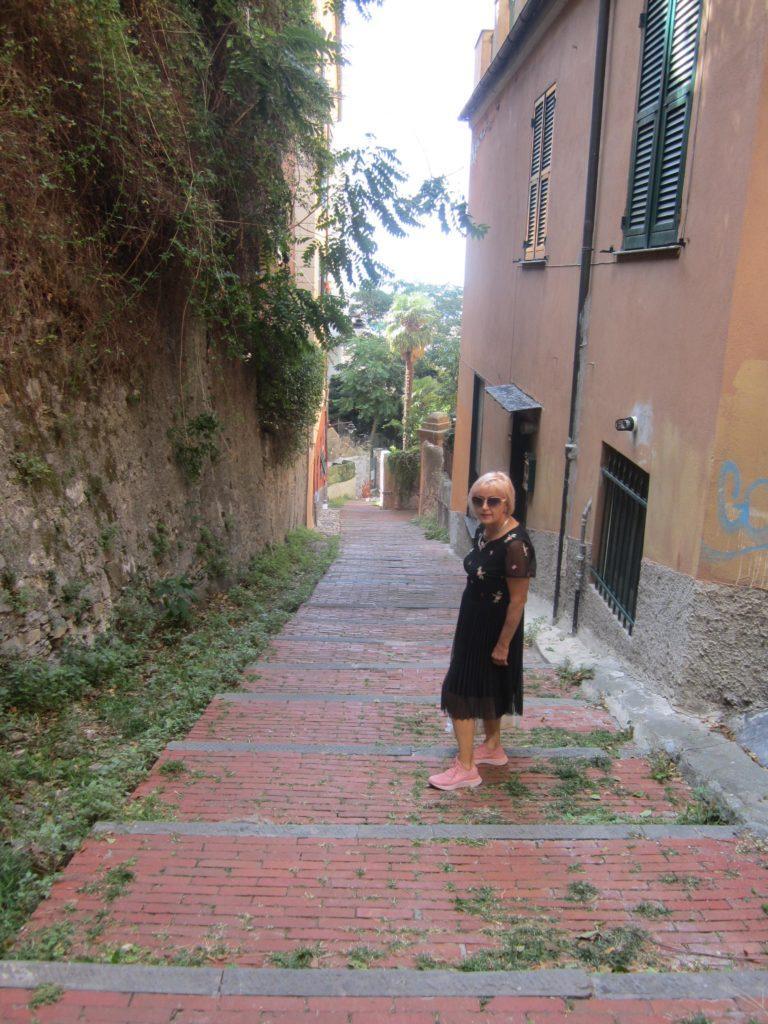 Улица в/из Castello D'Albertis. Генуя