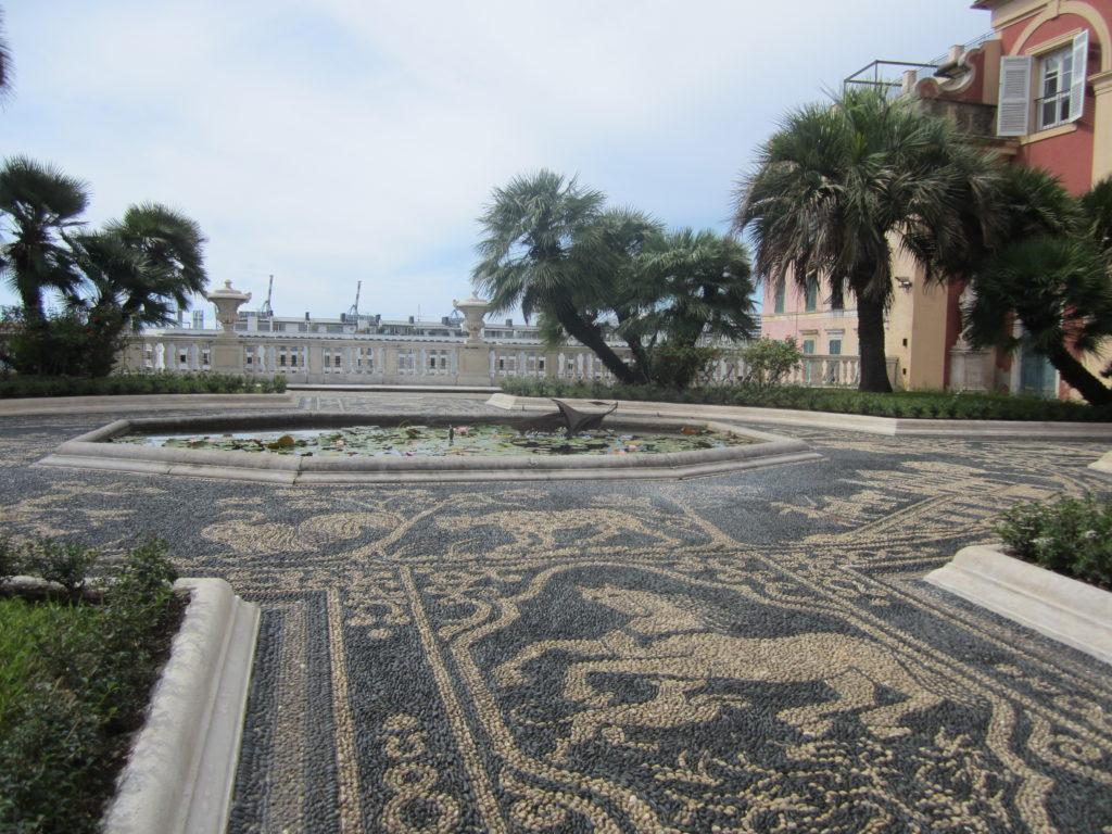 Генуя. Висячие сады Palazzo Reale.