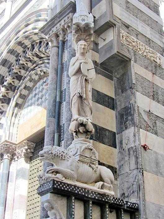 Точильщик на соборе Сан-Лоренцо