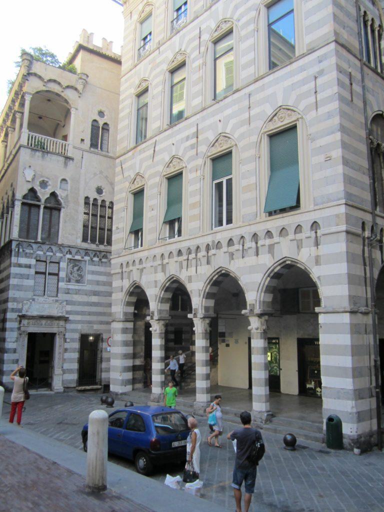 На пьяцца Сан Маттео. Генуя