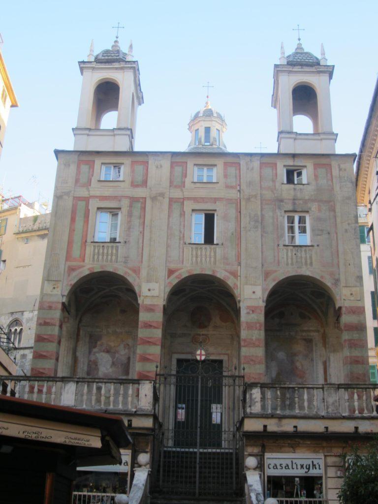 Церковь Сан-Пьетро (San Pietro in Banchi). Генуя