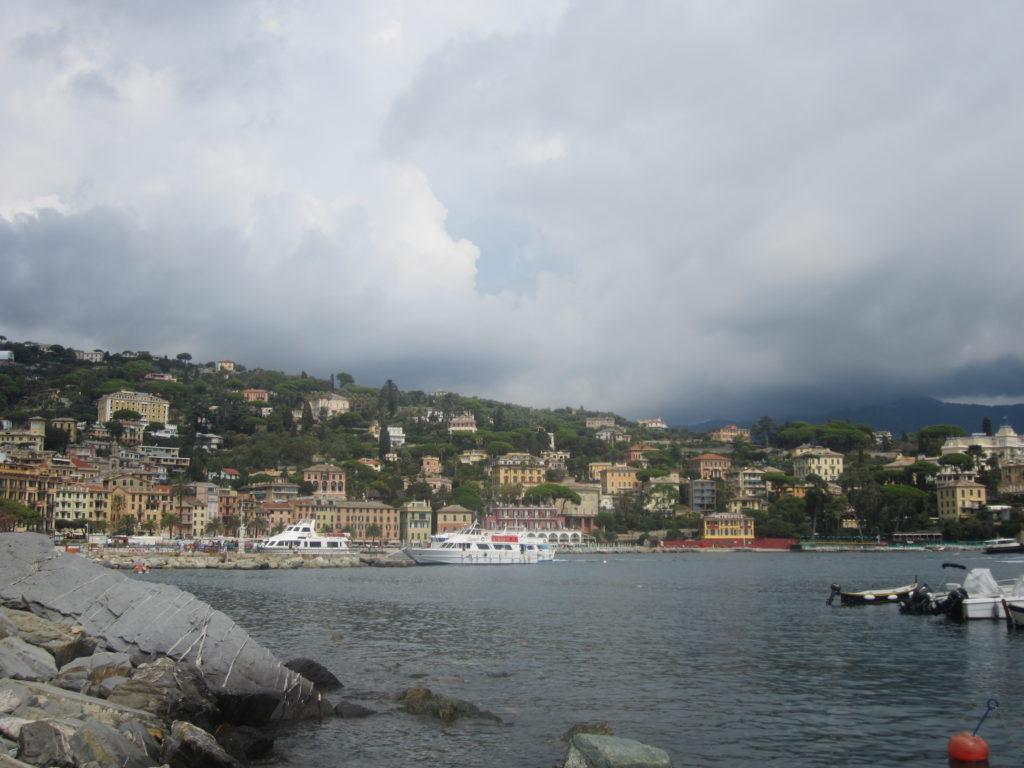 Набережная в Санта Маргарита Лигуре (Santa Margherita Ligure).