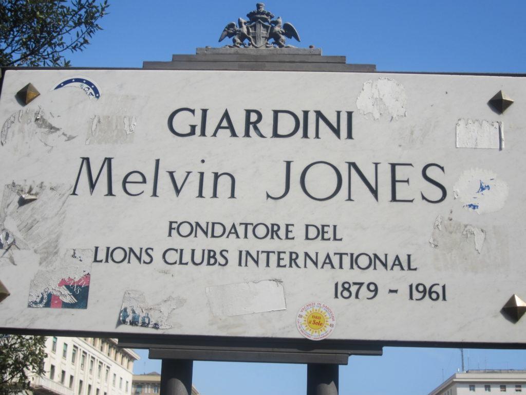 Генуя. Piazza della Vittoria. Парк