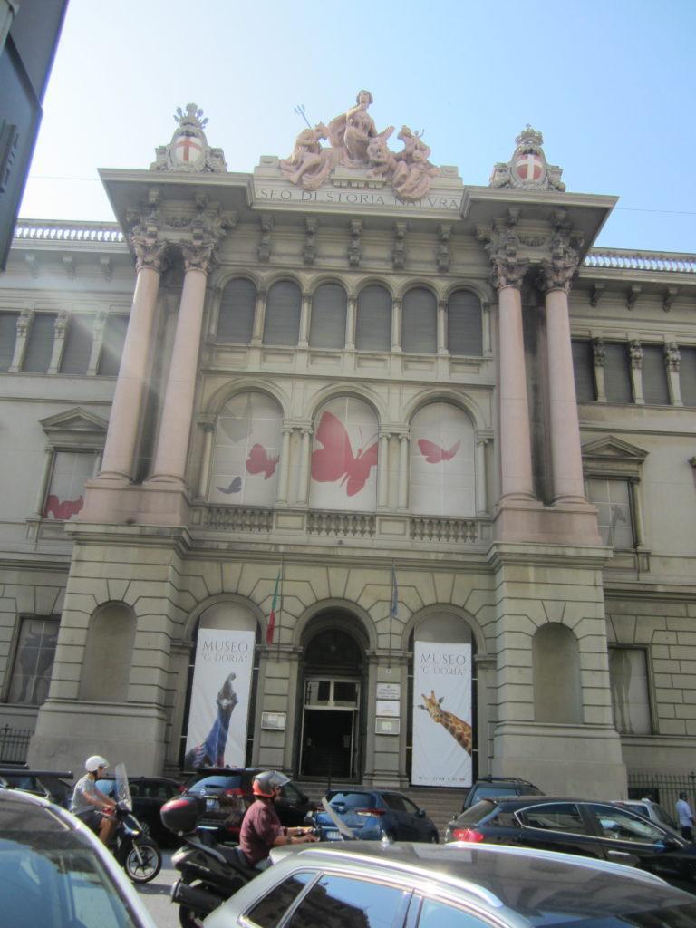 Здание второй железнодорожной станции Genova Brignole
