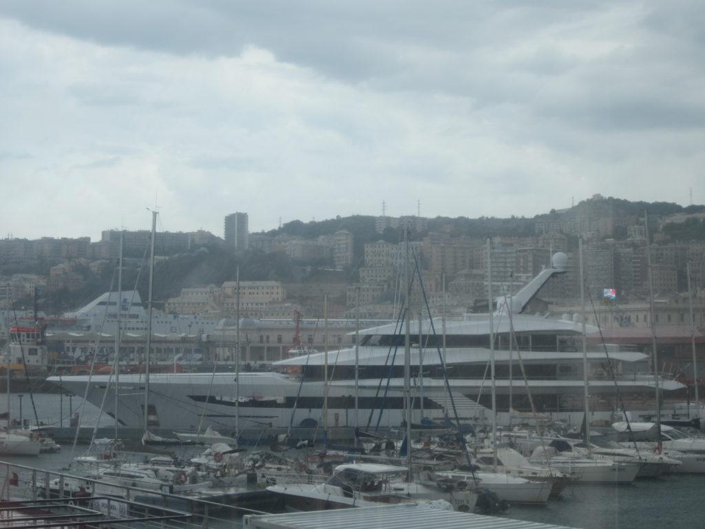 Генуя. Гавань. Старый Порт