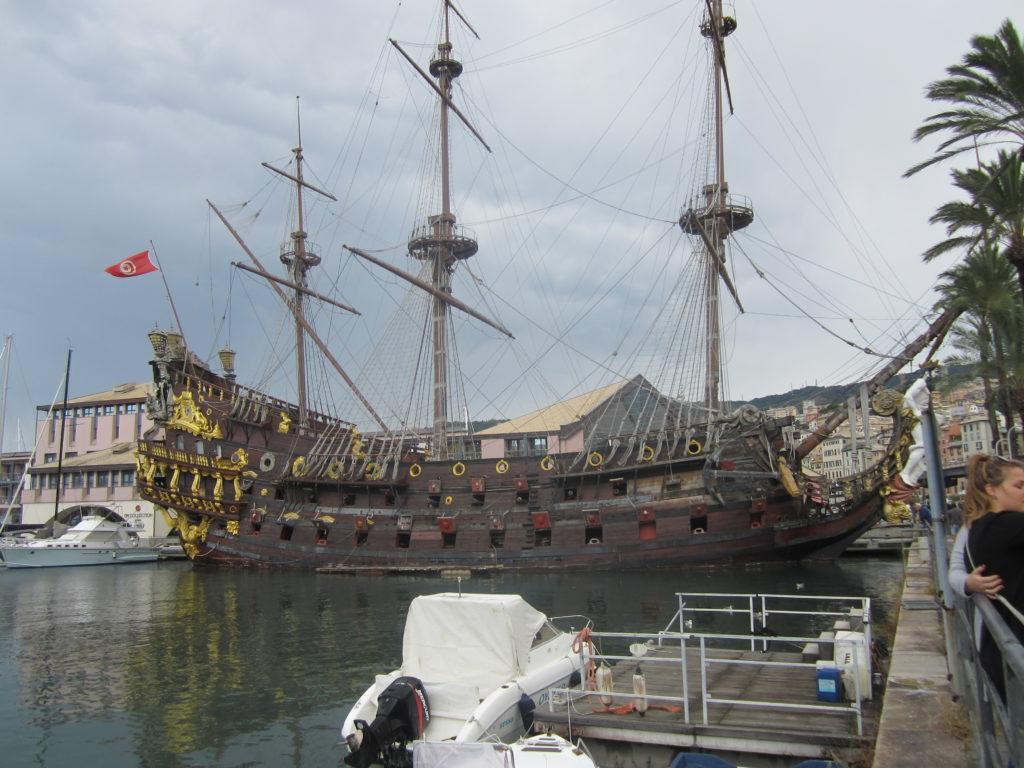 Genoa. Старый порт