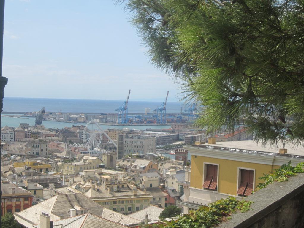 Генуя с площадки Portello – Castelletto