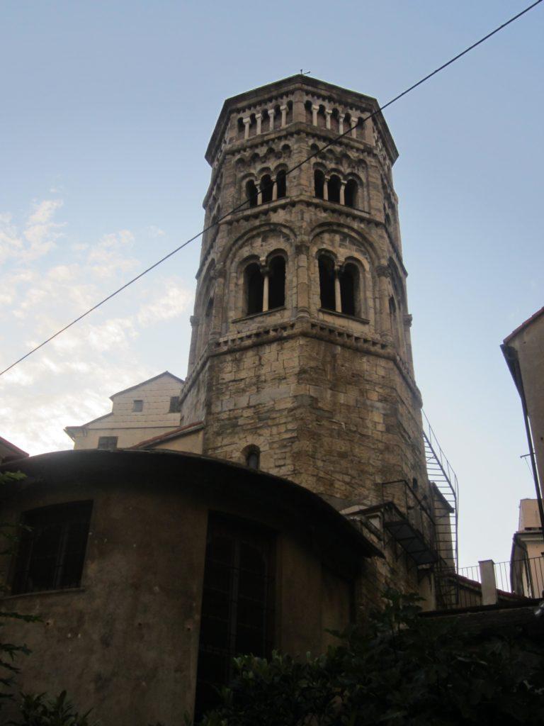 Колокольня церкви св. Доната. Генуя