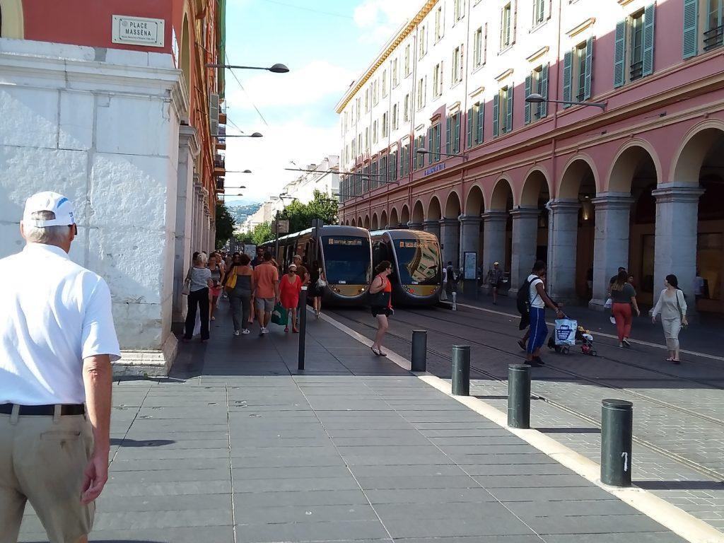 Площадь Массена. Ницца