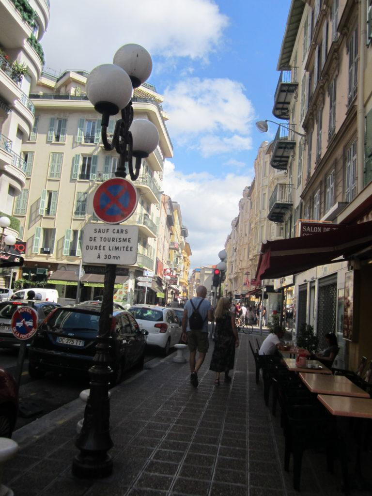 Ницца. Rue de France