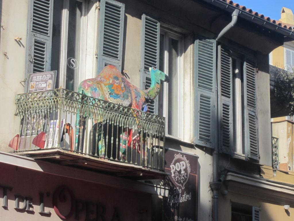 На улице Кур-Салея в Ницце