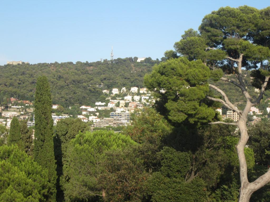 Вид на Ниццу с холма Шато