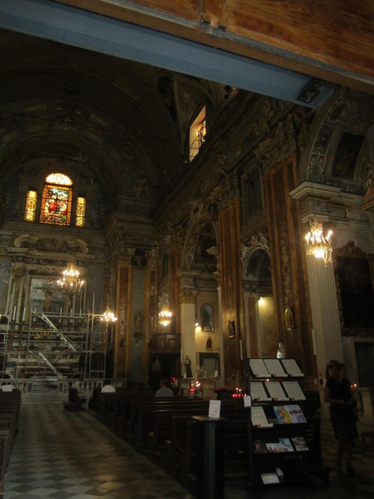 В церкви Сен-Жак-ле-Мажор