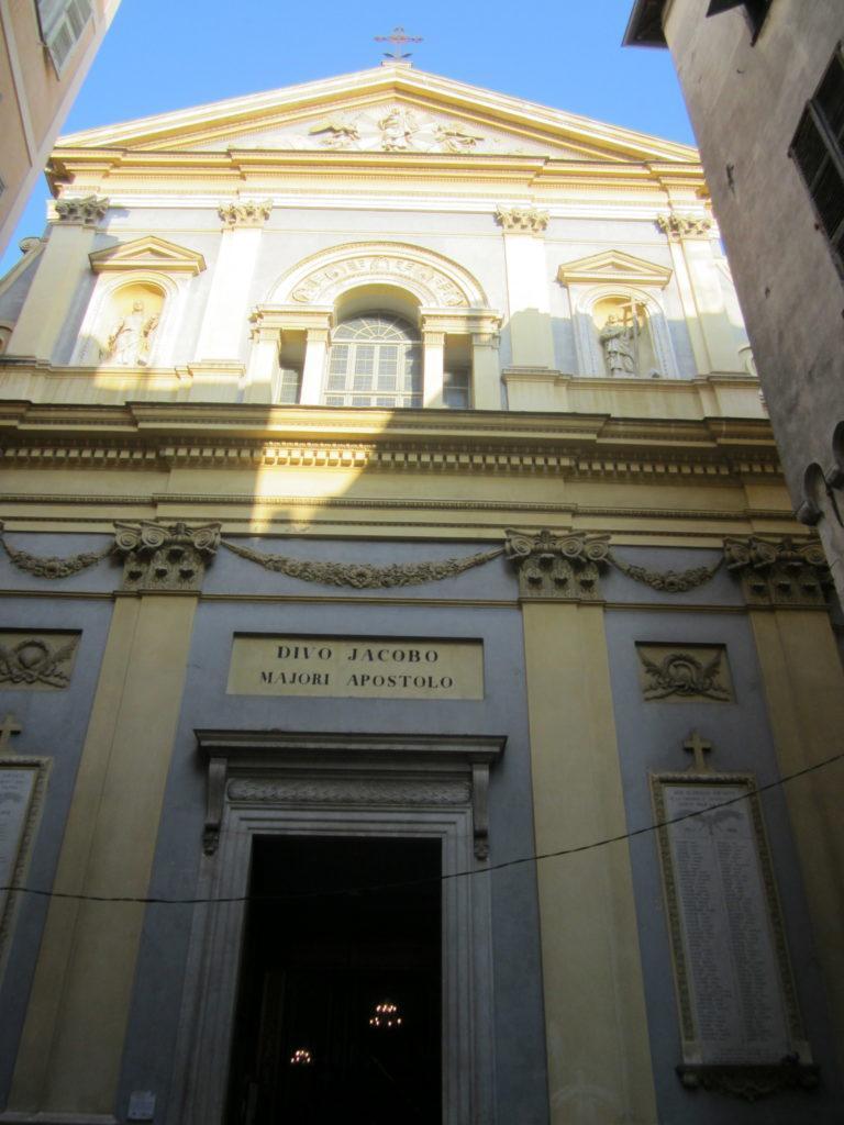 Ницца. церковь Сен-Жак-ле-Мажор (святого Иакова-старшего)