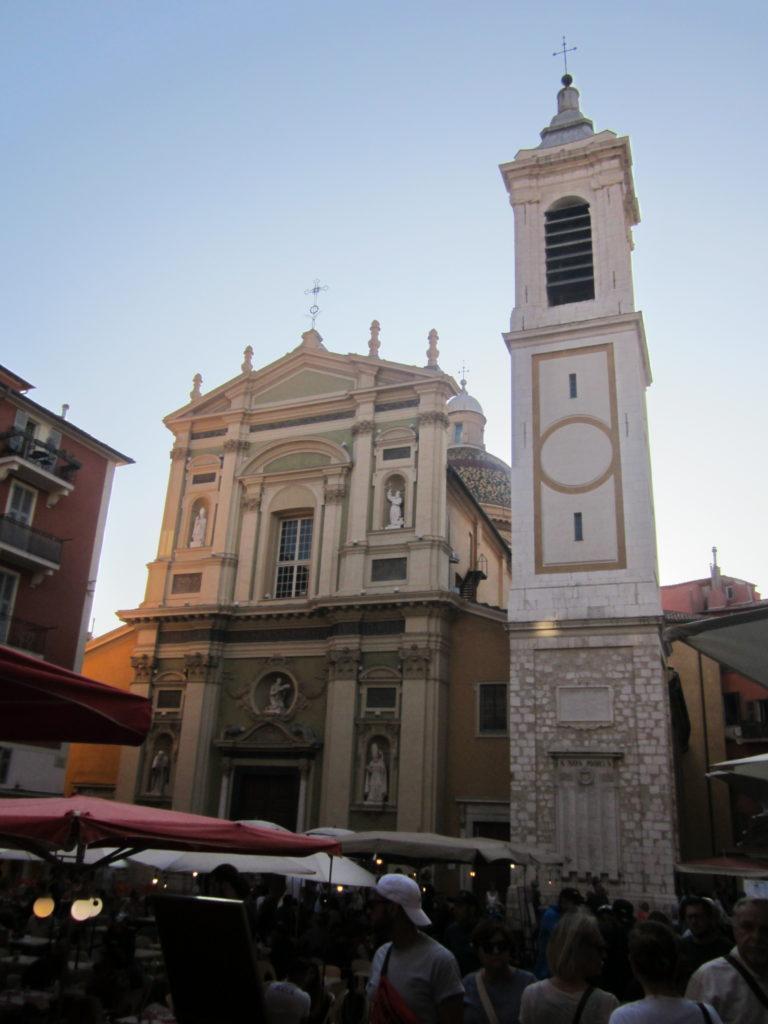 Кафедральный собор святой Репараты. Ницца
