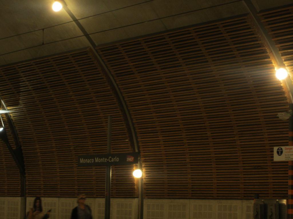 Monaco Monte-Carlo Train Station