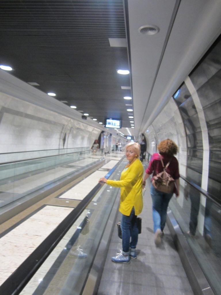 Переход на вокзал Монако