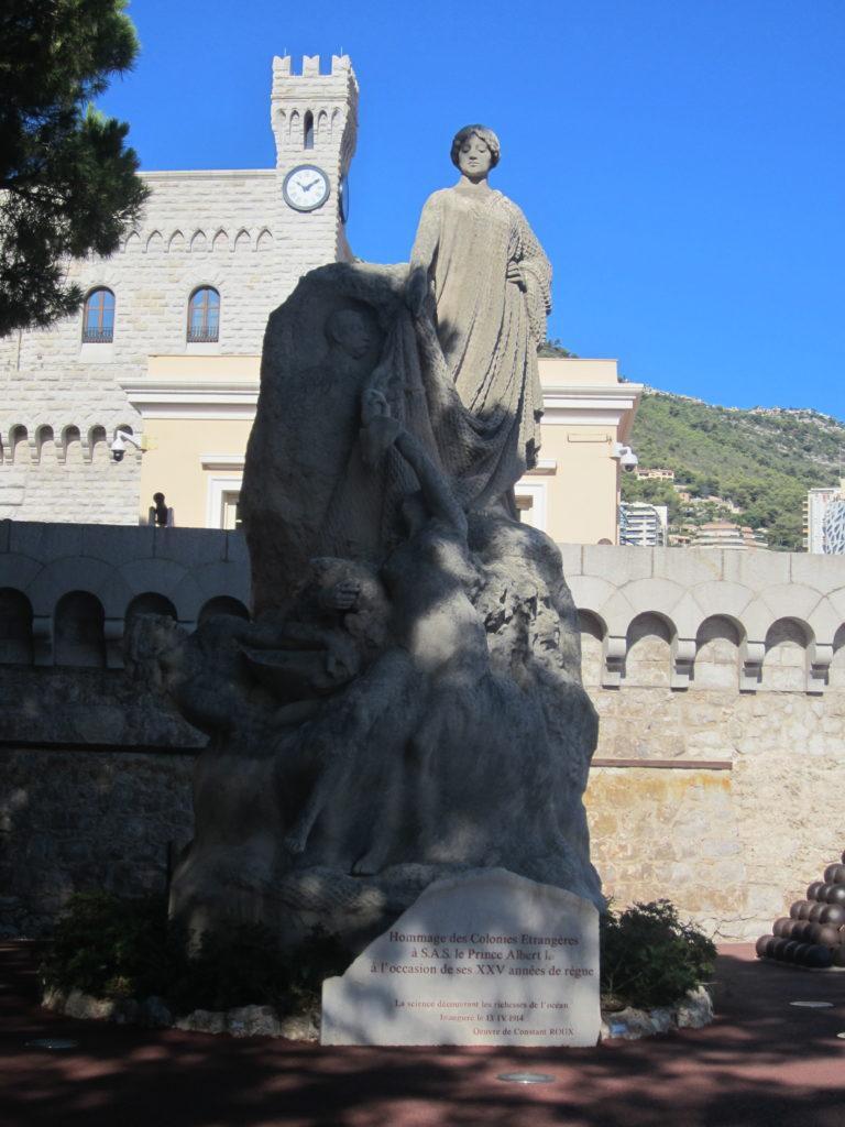 Памятник Альберту I. Монако