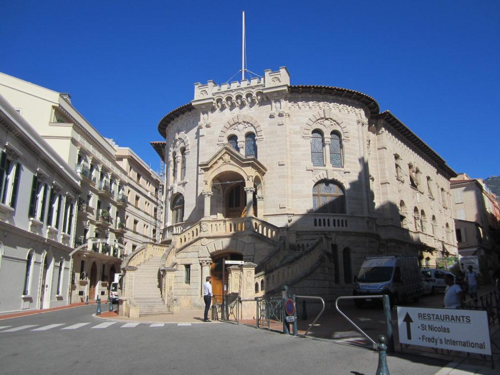 Здание Дворца Правосудия в Монако