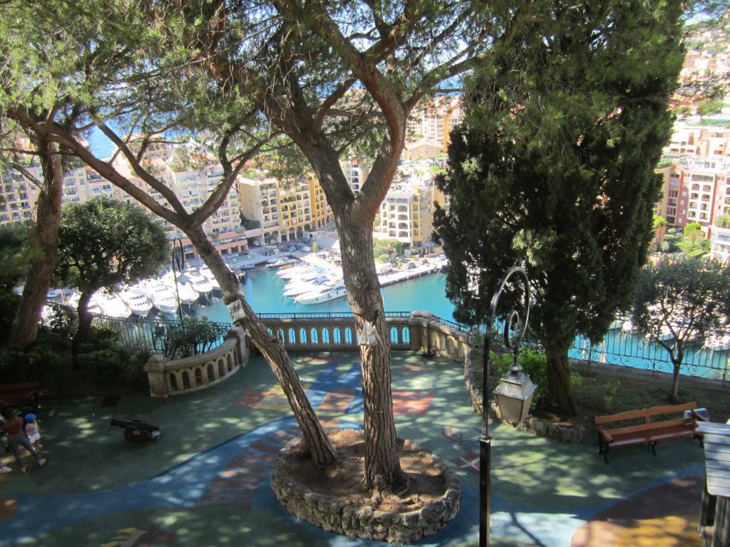 Вид на Монако с Place du Palais