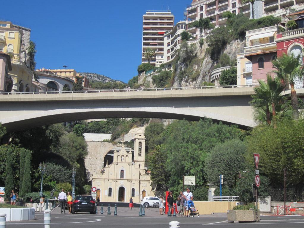 Монако. Церковь Св. Девоты