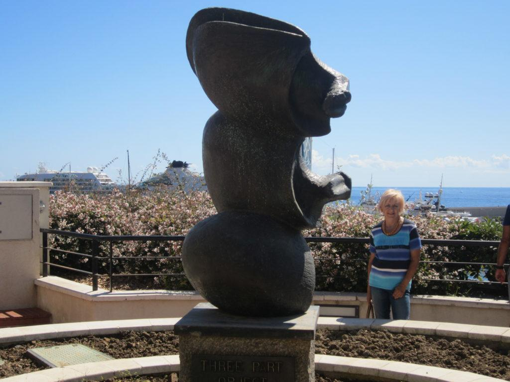 В парке рядом с казино Монте-Карло