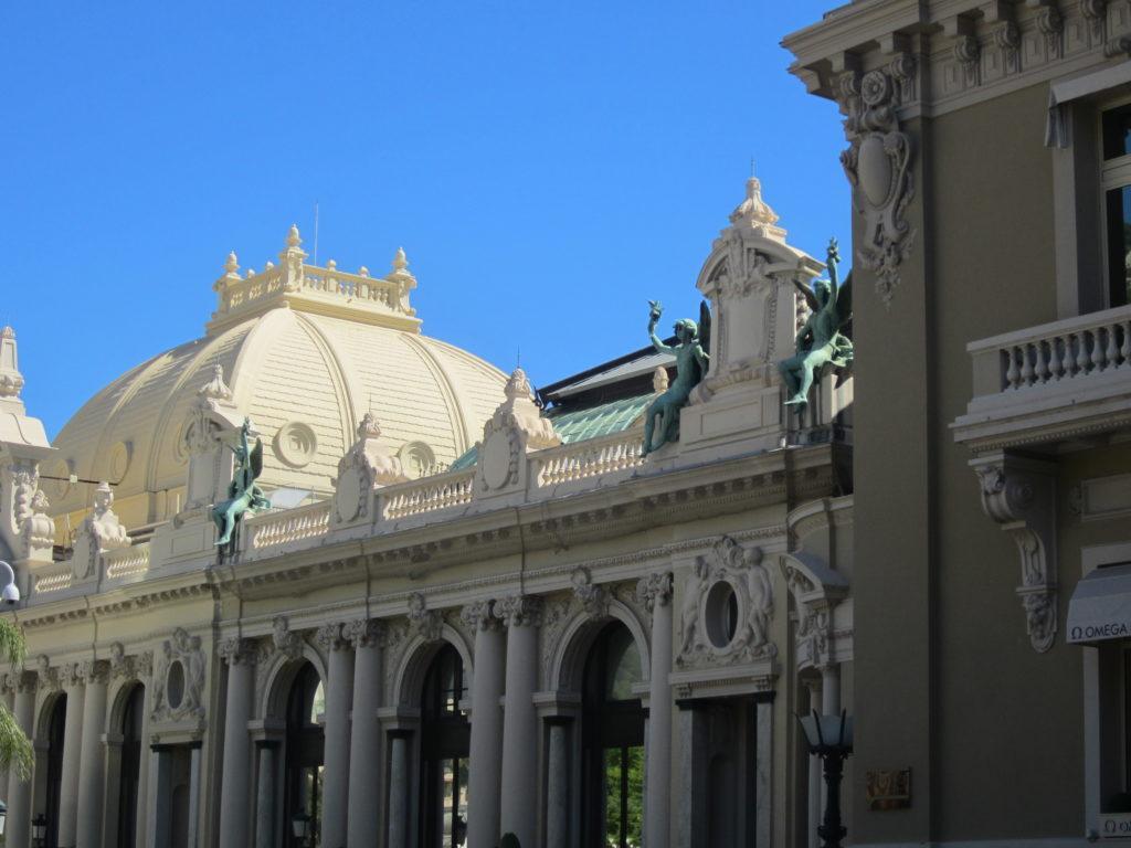 Фасад казино Монте- Карло