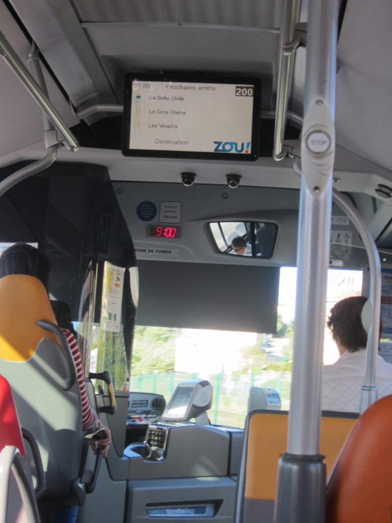Автобус №200 из Ниццы в Канны