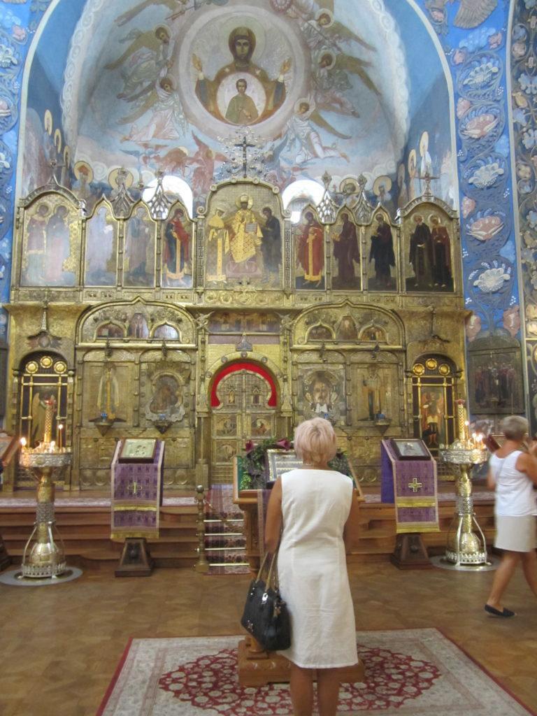 Ницца. В Соборе Св. Николая
