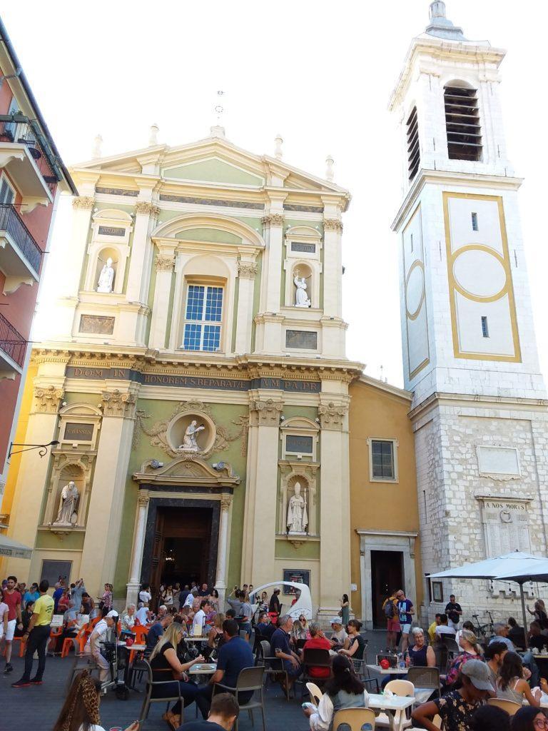 Ницца. Кафедральный собор Святой Репараты