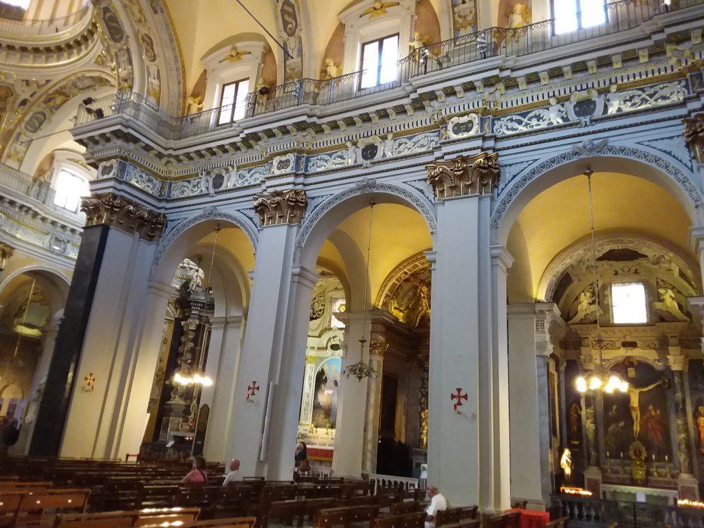 В соборе Святой Репараты. Ницца