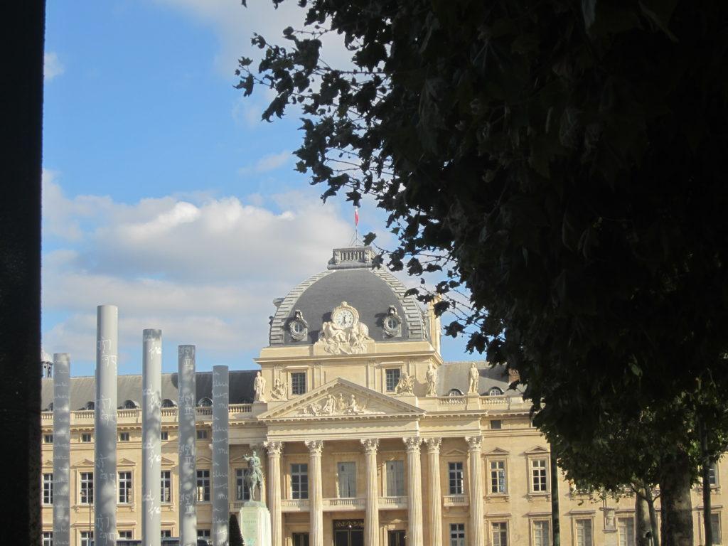Париж. Марсово поле и Военная школа