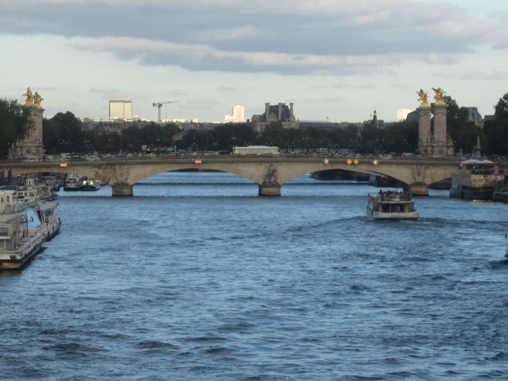 Париж. Прогулка по набережной Сены