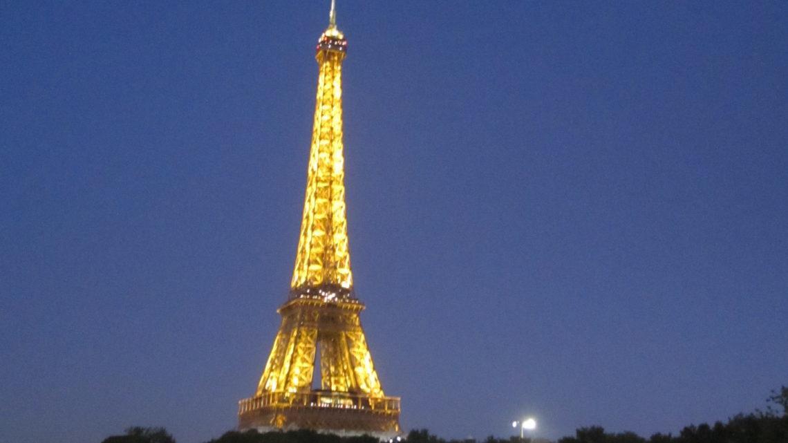 7 дней знакомства с Парижем. День 1-й.
