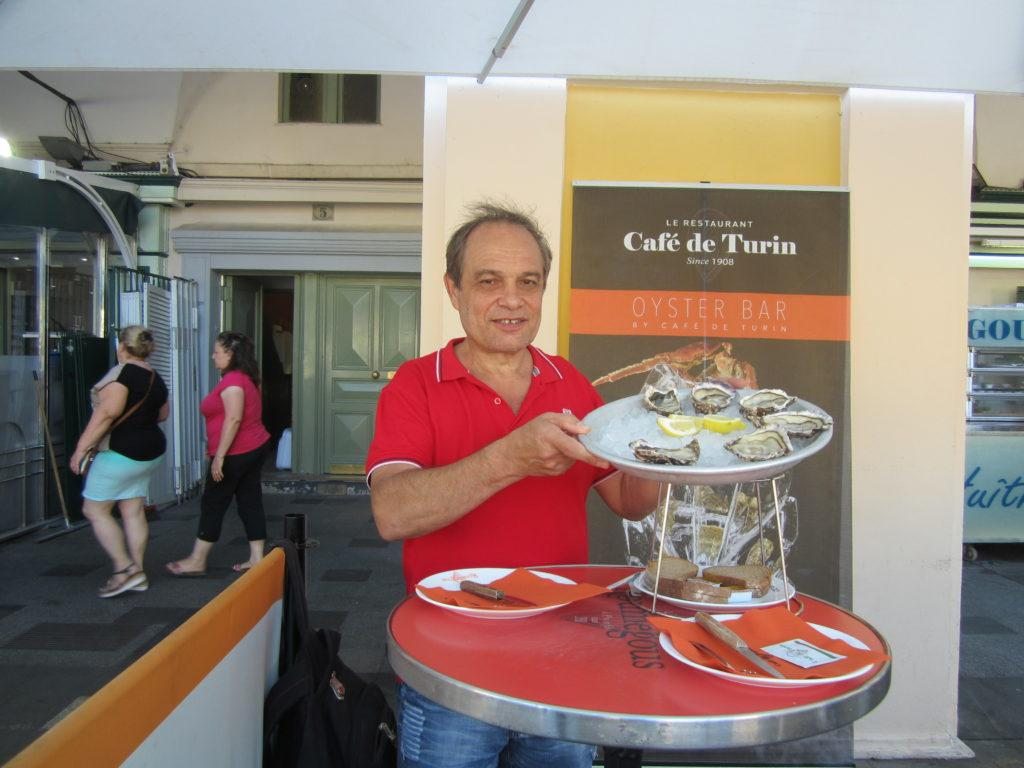 Ницца. Кафе Турин