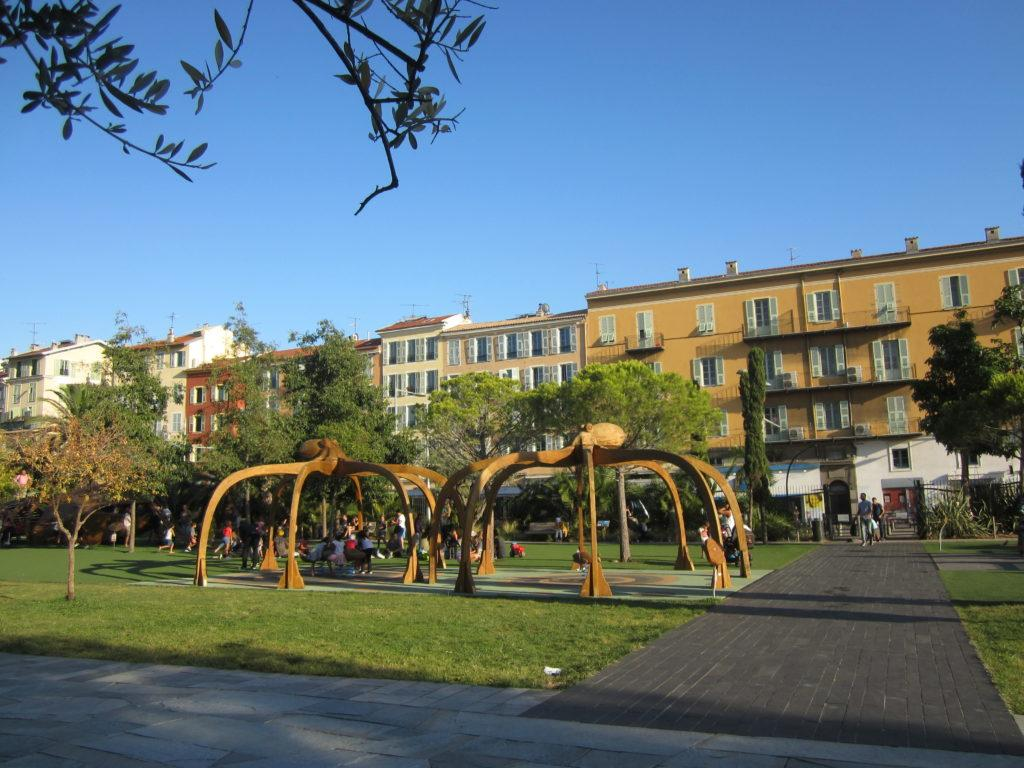 В парке Ниццы