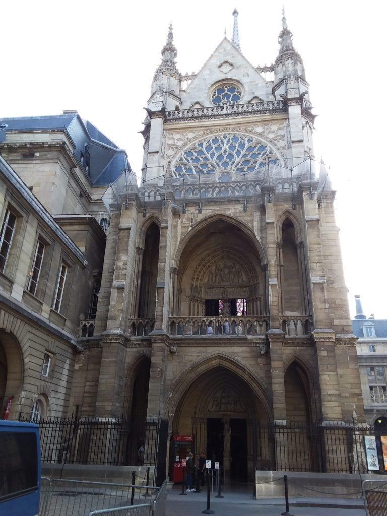 Вход в Церковь Сент-Шапель
