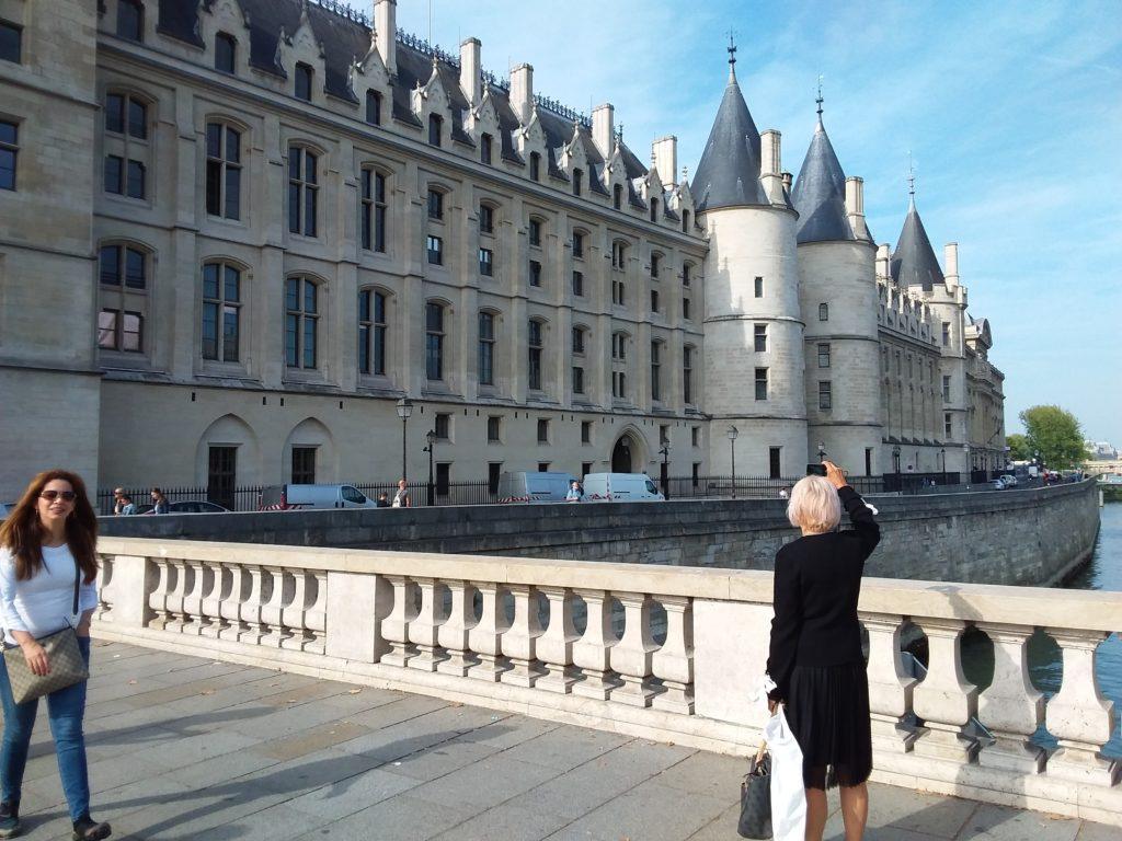 La Conciergerie на острове Сите. Париж