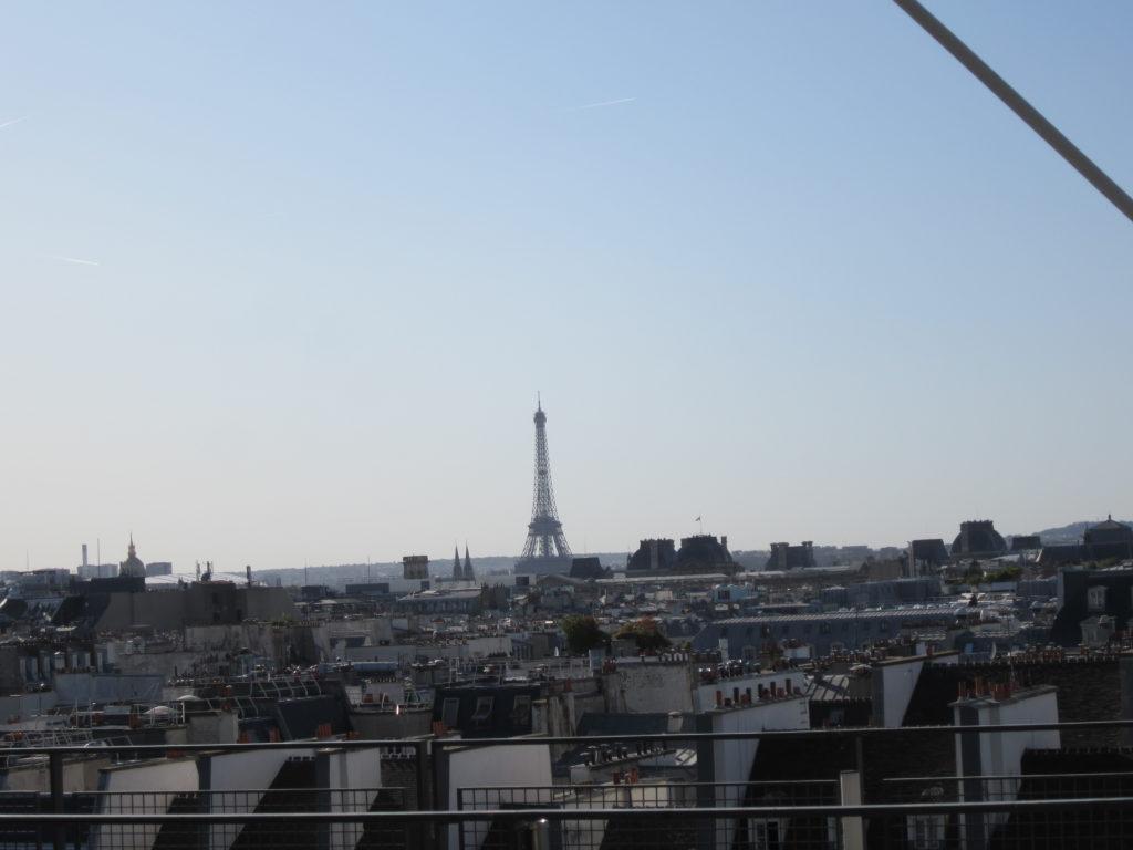 Париж из Центра Помпиду