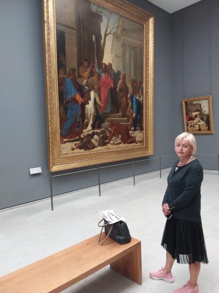 В музее Лувр. Париж