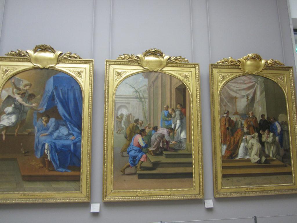 Триптих в Лувре. Париж