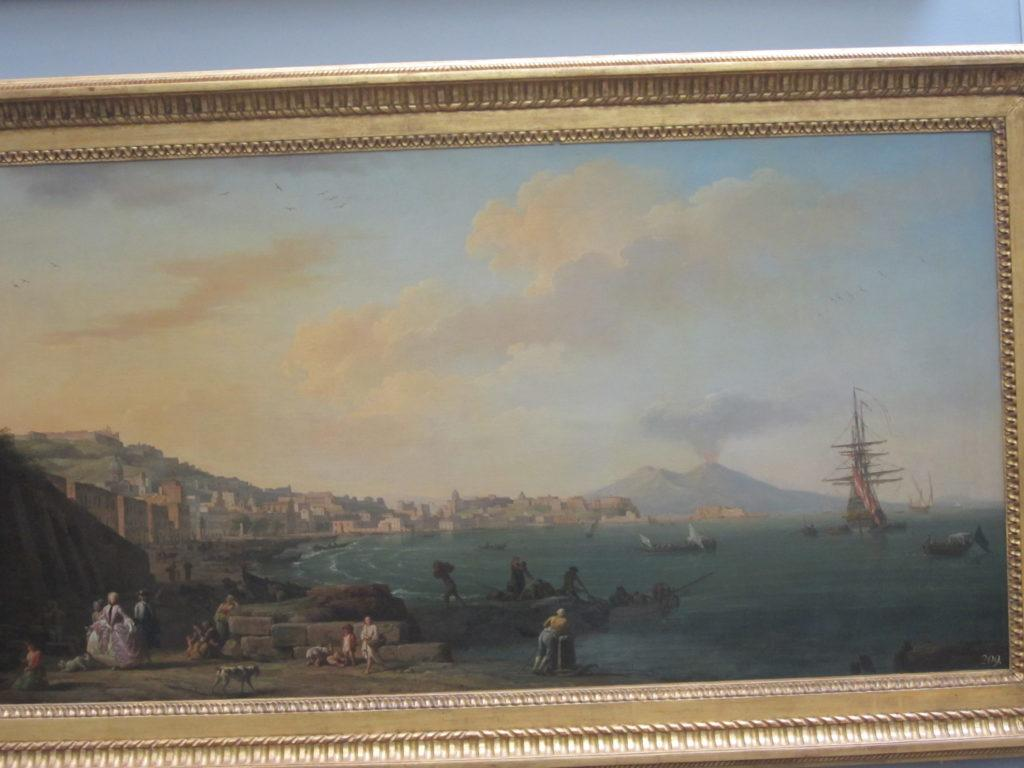 """Картина """"Неаполь на фоне Везувия"""""""