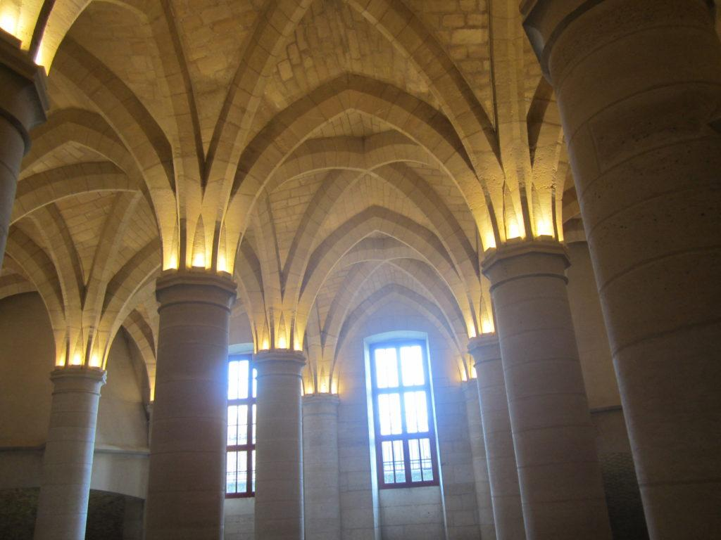 Внутри Консьержери (La Conciergerie)
