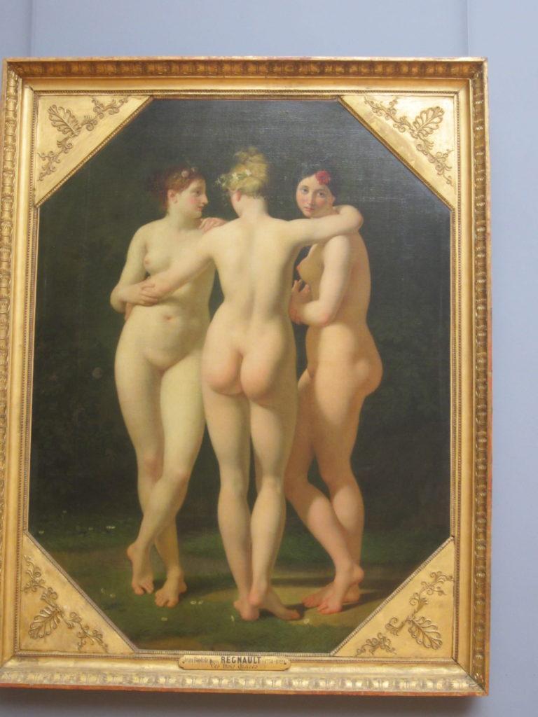 """Картина """"Три грации"""". Лувр"""
