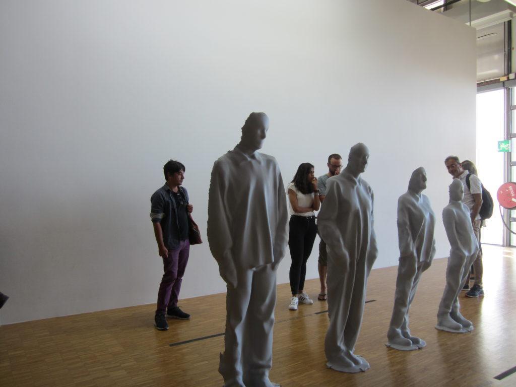 В Музее современного искусства - Центре Помпиду