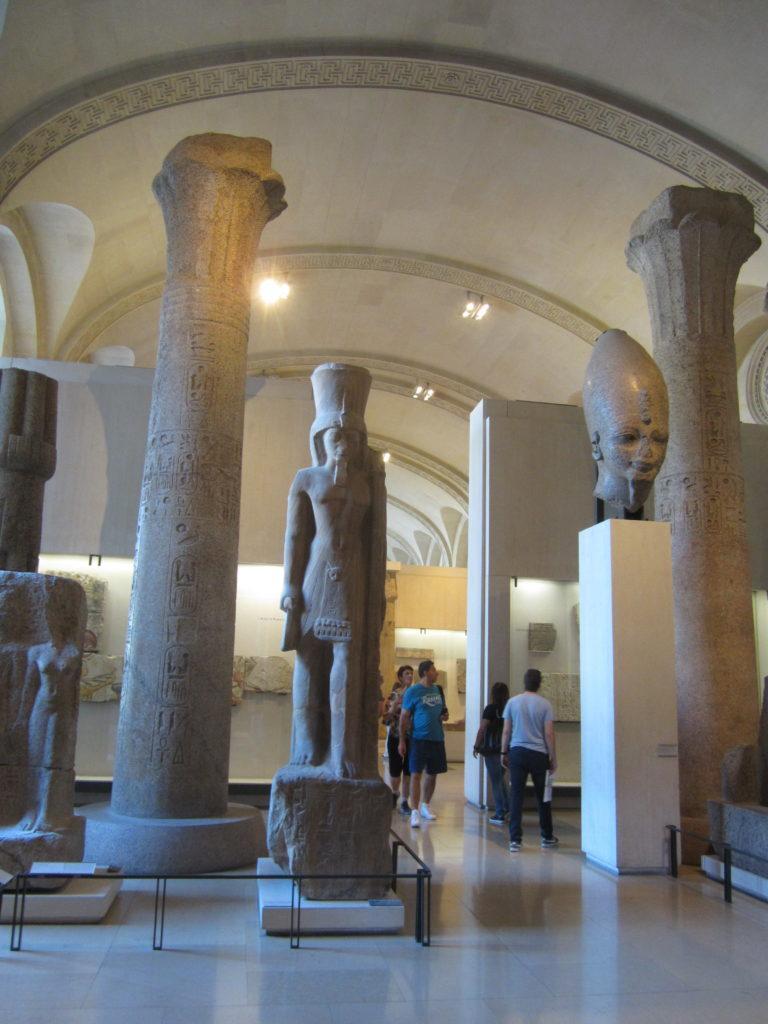 Лувр. Отдел Древний Египет