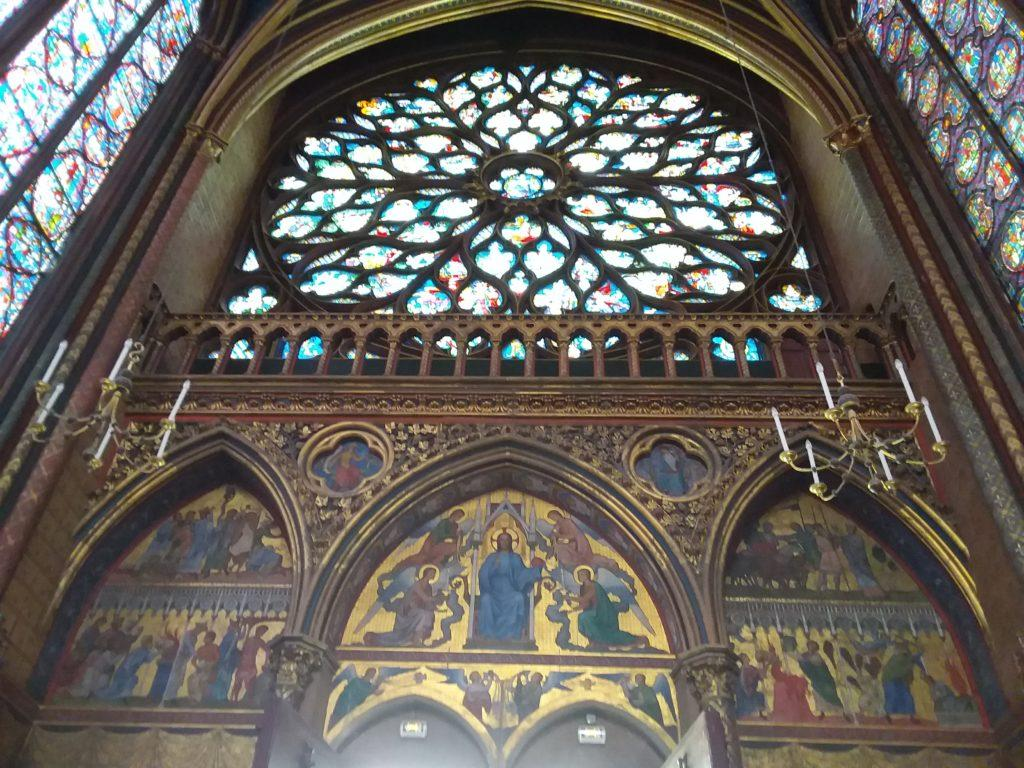 Церковь Сент-Шапель (Sainte Chapelle)