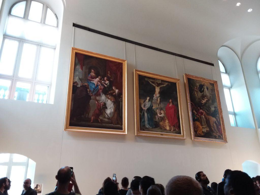 Париж. Лувр. К картине Леонардо да Винчи, «Джоконда»