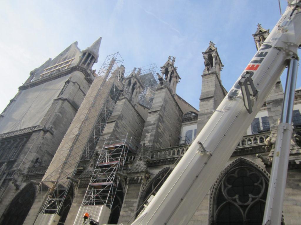 Восстановление Нотр Дам де Пари