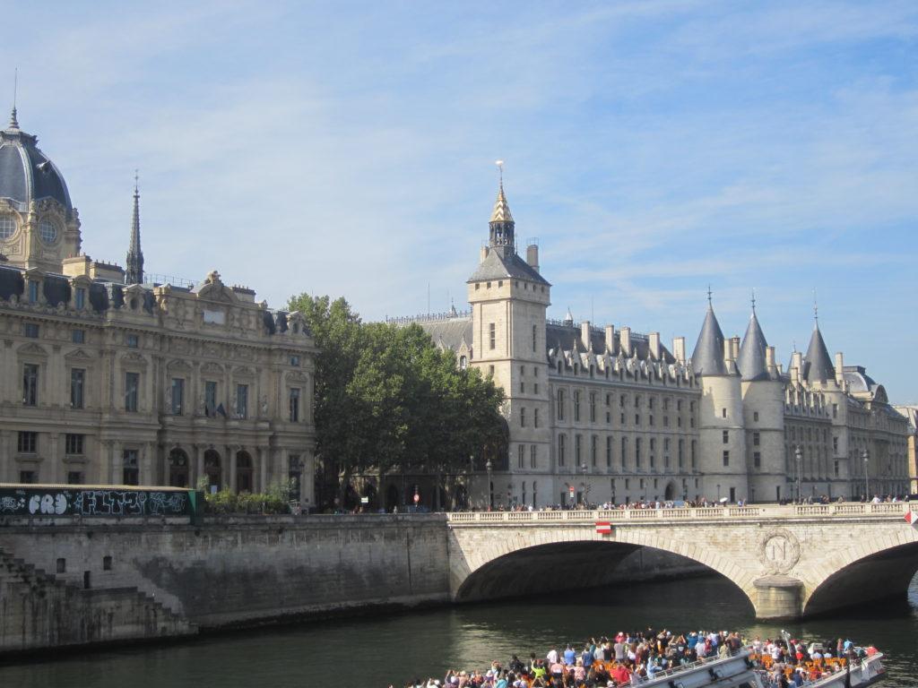 Мост Менял (Pont au Change). Париж